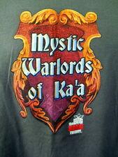Mystic Warlords of Ka'a Gray Tee Shirt Lrg Big Bang Theory Televsion Card Game