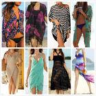 Sexy Hot Kaftan Women Beach Wear Swimwear Bikini Cover Up Chiffon Summer Dress