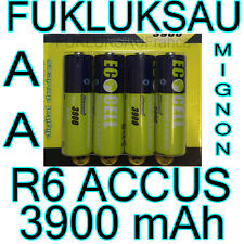 20 x PILES AA | PILES ACCUS RECHARGEABLE MIGNON 3900mAh Ni-MH 1,2V R6 LR6 - PRO
