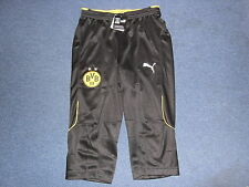 """Borussia Dortmund""""Original Puma""""BVB Trainingshose 3/4 Gr.M"""