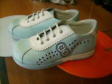 Scarpe shoes  bambina CHICCO NR. 26 primavera azzurre pelle NUOVE!