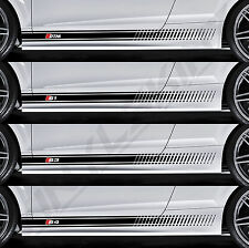 AUDI DTM S1 S3 S4 Superior Cast Side Stripes Decals Stickers Quattro S-line A4