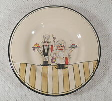 "Le Chef 11"" Dinner Plate - Two Cooks - by Hd DESIGNS  - Multiples Available"