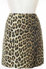 Moschino Cheap & Chic Leopard Print Pencil Skirt Size 6