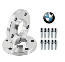15mm Hubcentric Wheel Spacers BMW E36 E46 323 325 328 330 M3 10 Chrome Lug Bolts