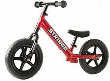 STRIDER 12 Classic Kids Balance Bike No-Pedal Learn To Ride Pre Bike RED NEW
