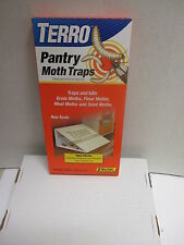 Pantry Moth Traps - ( 1 )-2pk. Grain,Flour,Meal,and Seed Moths,Traps and kills