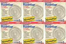 (48 pc) Presto 09964 PowerCup Microwave Popcorn Concentrators 6 Packs of 8 *