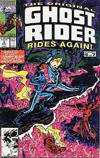 ORIGINAL GHOST RIDER RIDES AGAIN # 5 - COMIC - 1991 - 9.2