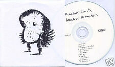 MINOTAUR SHOCK Amateur Dramatics UK promo test press CD 4AD