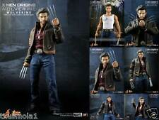HOT TOYS MARVELS X-MEN ORIGINS MMS103 LOGAN as WOLVERINE 1/6 FIGURE