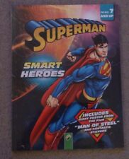 BNIP Superman Smart Heroes Children's Activity Book with Man of Steel poster