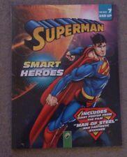 BNIP Superman Libro De Actividad Niños Héroes inteligente con cartel de hombre de acero