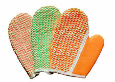 Sisal and Terry Bath & Grooming Mitt Glove for Horse or Dog by Equine Organix