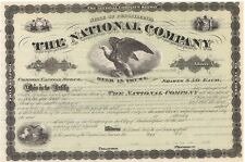 The National Co.   Central Railroad of New Jersey & Lehigh Valley Railroad stock