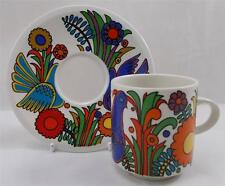 Villeroy & and Boch ACAPULCO coffee cup and saucer EXCELLENT