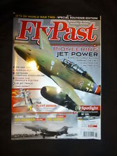 Fly Past. June 13 Jets of World War Two,Souvenir Edition, Pioneering Jet Power.