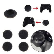 4PCS Black Gel Controllers Thumb Grips Pro Gamer For PS4 Xbox 360 PS3 XboxOne