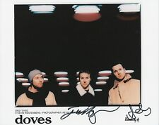 THE DOVES Signed 10x8 Photo LOST SOULS & KINGDOM OF RUST COA