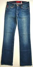 Big Star Women's Boot Cut Jeans Size 25R X 32 Made In USA AWESOME