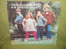 The Mamas and The Papas 16 of Their Greatest Hits 1969 EX LP First.. 1A/1A