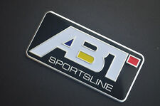 Aluminum Car Sticker Decal ABT Logo Emblem Badge Styling for Audi R8 GTR TT A4