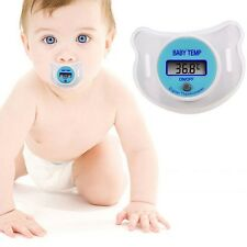 Baby Nipple Thermometer Termometro Baby Pacifier LCD Digital Mouth Nipple Pac...