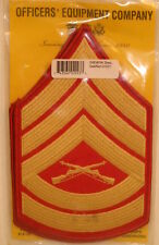 USMC US Marine Corps Gunnery Sergeant Male Dress Blues Strips Chevrons Packaged