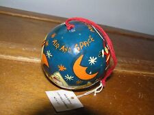 Air and Space Museum Made in India Santa Claus in Airplane Painted Christmas