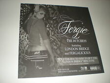 0 FERGIE as dutchess rare POSTER Flat for the tour album cd gig concert clumsy
