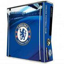 Chelsea Fc Xbox 360 Console Skin (Slim) Cover Sticker Official