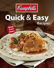 Campbell's Quick & Easy Recipes by , Good Book