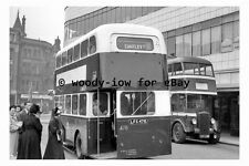 pt9866 - Doncaster Bus LFS 478 at Duke Street in 1954 , Yorkshire - photograph