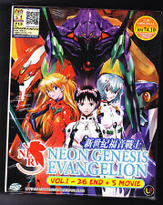 *NEW* NEON GENESIS EVANGELION *26 EPS/5 MOVIES*ENGLISH SUBS*ANIME DVD*US SELLER*
