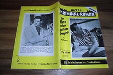 Falegnameria KRIMINAL-Roman # 282 -- con Eddie Constantine-foto di copertina del 1.6.1956