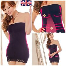 BEST senza spalline tubo Slimming Body Shaper Cintura per Donne Ragazze UK GIRDLE Corsetto