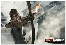 Tomb Raider Lara Croft Game Art Silk Poster 24x36inch Tourniquet Render 05