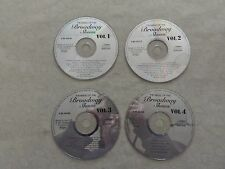 The Magic Of Broadway Shows Jukebox Hits 60 Songs 4 CD's 2001 UAE #35152 Import
