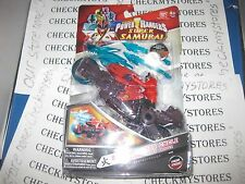 NEW AUTHENTIC Power Ranger Sword Cycle with SHARK ATTACK Ranger FIRE