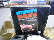 Thelonious Monk Mighty Monk vinyl LP Riverside Records EX