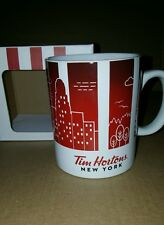 Tim Horton's Coffee Mug Traveler Limited Edition Dishwasher Safe▪NEW YORK▪2016▪
