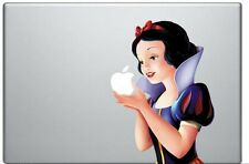 "Snow White Eating Apple Decal, fits Macbook 13"" Air Pro Retina"