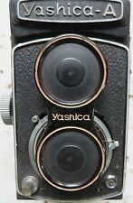 JAPAN VINTAGE YASHIKA A CAMERA COPAL SHUTTER TLR YASHIKOR 80 MM CIRCA 1960 W/LET