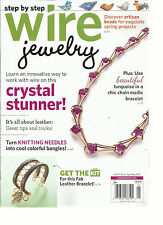 STEP BY STEP WIRE JEWELRY,  APRIL / MAY, 2015  VOL.11( TURN KNITTING NEEDLES )