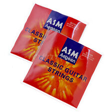 """(2 Sets) 6 Nylon Strings for Classical Classic Guitar .028-.045"""""""