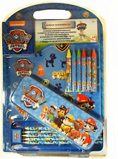 Paw Patrol Pencil Case, Crayons Activity Set New Kids