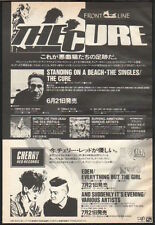 1986 The Cure Standing On The Beach vint. JAPAN album promo press ad /advert c7r