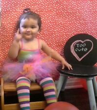 Rainbow Cupcake Birthday Halloween 2pc tutu Swimsuit outfit 6-12 months