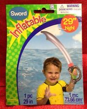 "Inflatable Pirate Sword Party Favor 29"" HIGH Brand New In Package"