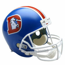 DENVER BRONCOS 75-96 THROWBACK FOOTBALL HELMET – RIDDELL FULL SIZE REPLICA